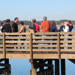 Tideviews Preserve Opens to Sunny Weather, Crowd