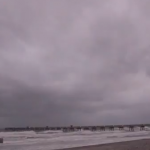 Wicked Winds Whip Jacksonville Beach