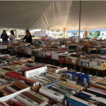 Books Galore at an Outdoor Bookstore!
