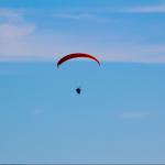 Paragliding over Jax Beach