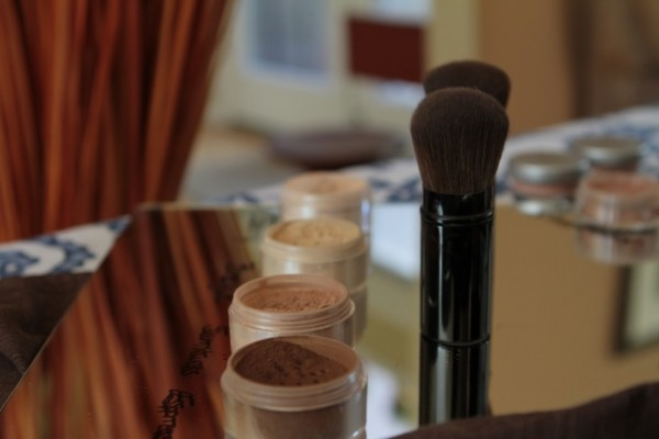DNA Minerals with Brushes