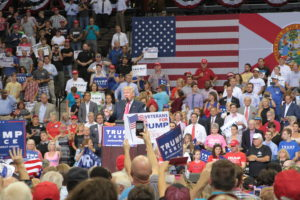 Thousands attend Trump rally in Jacksonville